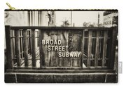 Broad Street Subway - Philadelphia Carry-all Pouch