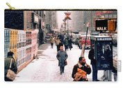Broadway And 42nd Street 1985 Carry-all Pouch