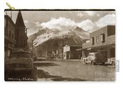 Broadway In Skagway Alaska Street Scene Circa 1957 Carry-all Pouch