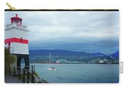 Brockton Point Lighthouse In Stanley Park Carry-all Pouch
