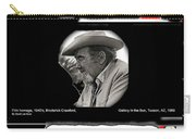 Broderick Crawford Ted Degrazias Gallery In The Sun Tucson Arizona 1969-2008 Carry-all Pouch
