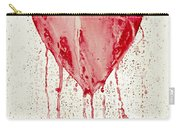 Broken Heart - Bleeding Heart Carry-all Pouch
