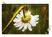 Broken Hearted Oxeye Daisy Asteraceae  Carry-all Pouch