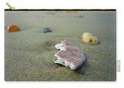 Broken Sand Dollar - Low Tide At Manhattan Beach Carry-all Pouch