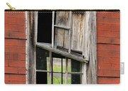 Broken Window Frame Carry-all Pouch