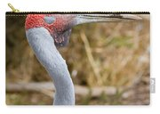 Brolga Profile Carry-all Pouch