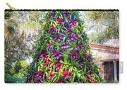 Bromeliad Christmas Tree At Pinewood Estate, Bok Tower Carry-all Pouch
