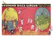 Bronco Bills Circus Carry-all Pouch