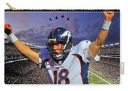 Broncos Win Super Bowl Fifty Carry-all Pouch
