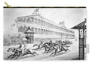 Bronx: Horse Race, 1866 Carry-all Pouch by Granger