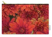 Bronze Chrysanthemums Carry-all Pouch
