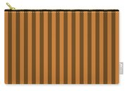 Bronze Orange Striped Pattern Design Carry-all Pouch