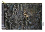 Bronze Sculptured Church Door - Slovenia Carry-all Pouch