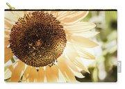 Bronze Sunflower Carry-all Pouch