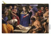 Bronzino Agnolo Painting Carry-all Pouch by Munir Alawi