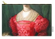 Bronzino's A Young Woman And Her Little Boy Carry-all Pouch