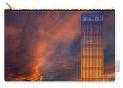 Brooding Orange Annual Calendar2016 Carry-all Pouch