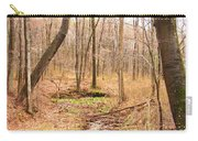 Brook In The Woods Carry-all Pouch