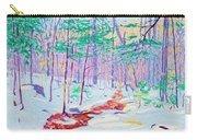 Brook In Winter, 1914 Carry-all Pouch