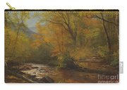 Brook In Woods Carry-all Pouch