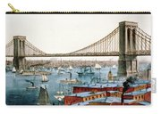 Brooklyn Bridge, 1872 Carry-all Pouch