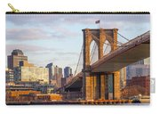 Brooklyn Bridge At Sunset Carry-all Pouch