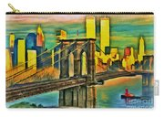 Brooklyn Bridge Collection - 1 Carry-all Pouch