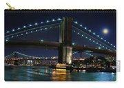 Brooklyn Bridge Full Moon Carry-all Pouch