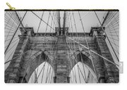 Brooklyn Bridge Goes Up Carry-all Pouch