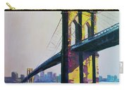 Brooklyn Bridge, N Y  Carry-all Pouch