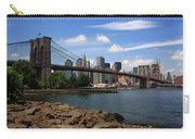 Brooklyn Bridge - New York City Skyline Carry-all Pouch