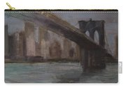 Brooklyn Bridge Painting Carry-all Pouch