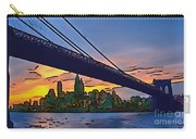 Brooklyn Bridge Collection - 2 Carry-all Pouch