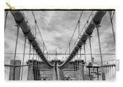 Brooklyn  Bridge Suspension Cables Carry-all Pouch