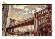 Brooklyn Bridge Watercolor Carry-all Pouch
