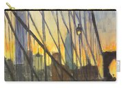 Brooklyn Bridge Wires Carry-all Pouch