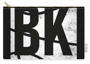 Brooklyn Nets City Poster Art Carry-all Pouch