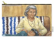 Brother Wolf - Grandmother's Lap Carry-all Pouch