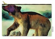 Brown Bear Pose Carry-all Pouch
