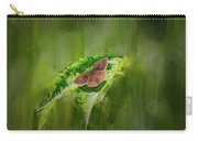 Brown Butterfly #h6 Carry-all Pouch by Leif Sohlman