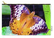 Brown Butterfly Carry-all Pouch