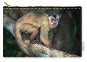 Brown Capuchin Monkey Cebus Apella Carry-all Pouch