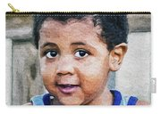 Brown Child - Paint Fx Carry-all Pouch