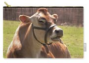 Brown Cow Chewing Carry-all Pouch