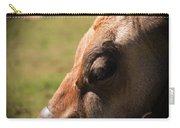 Brown Cow With Vignette Carry-all Pouch