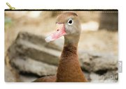 Brown Duck Portrait Carry-all Pouch