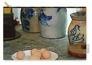 Brown Eggs And Ginger Jars Carry-all Pouch