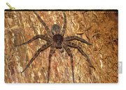 Brown Fishing Spider Carry-all Pouch