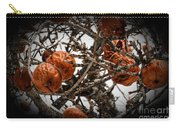 Brown Fruit Abstract Carry-all Pouch
