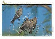 Brown-headed Cowbirds Carry-all Pouch